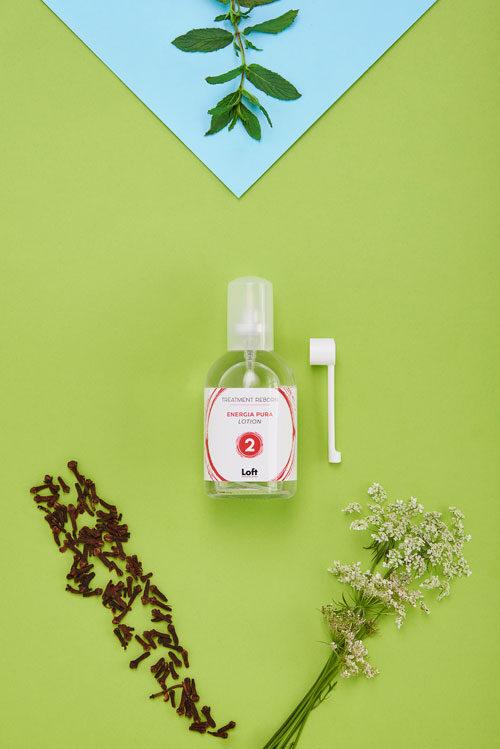 Energia pura lotion linea treatment reborn di Loft Hair Studio