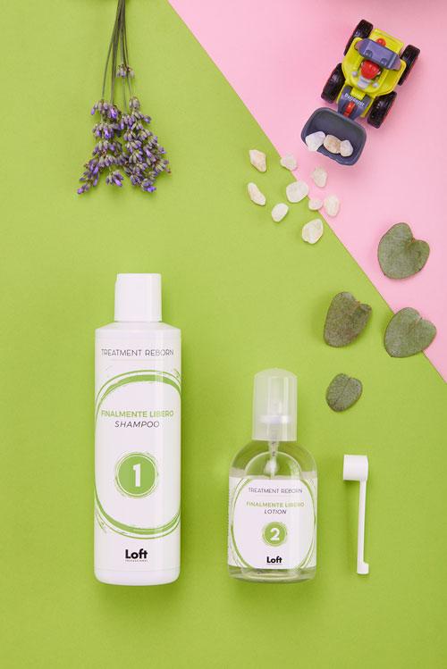 Finalmente Libero KIT Shampoo e Fluid Treatment Reborn Loft Hair Studio