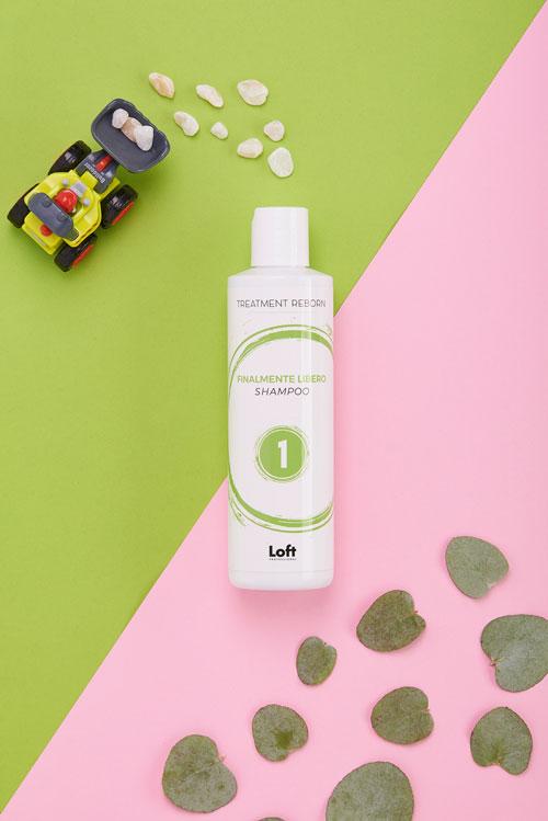 Finalmente Libero Shampoo Treatment Reborn Loft Hair Studio