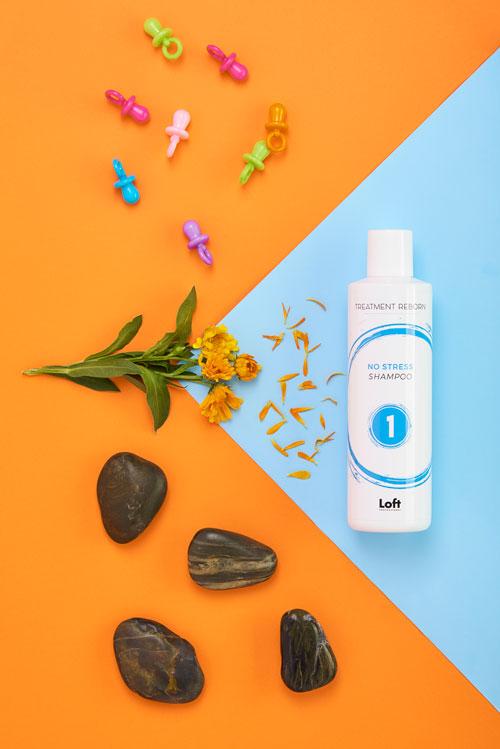 No Stress Shampoo Treatment Reborn Loft Hair Studio