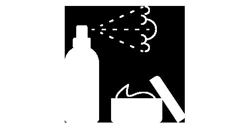 Icona della linea prodotti styling finishing Loft Hair Studio