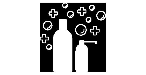 Icona della linea prodotti trattante curativa di Loft Hair Studio